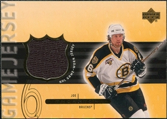 1999/00 Upper Deck Game Jerseys Series II #JT Joe Thornton