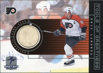 1999/00 Upper Deck Wayne Gretzky Hockey Tools of Greatness #TGEL Eric Lindros