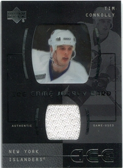 2000/01 Upper Deck Ice Game Jerseys #JCTC Tim Connolly
