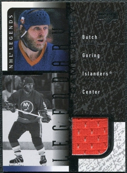 2000/01 Upper Deck Legends Legendary Game Jerseys #JBG Butch Goring