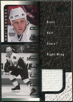 2000/01 Upper Deck Legends Legendary Game Jerseys #JBH Brett Hull