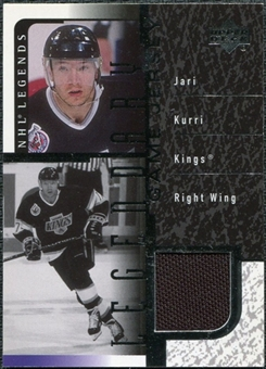 2000/01 Upper Deck Legends Legendary Game Jerseys #JJK Jari Kurri SP