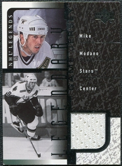 2000/01 Upper Deck Legends Legendary Game Jerseys #JMM Mike Modano