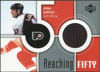 2002/03 Upper Deck Reaching Fifty #50JL John LeClair
