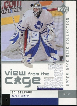 2002/03 Upper Deck UD Mask Collection View from the Cage #VEB Ed Belfour