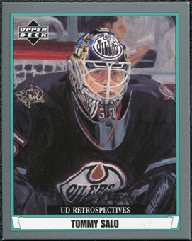 2002/03 Upper Deck UD Artistic Impressions Retrospectives Silver #R38 Tommy Salo /99