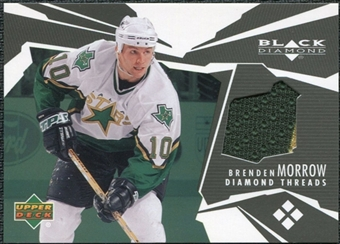 2003/04 Upper Deck Black Diamond Threads #DTBM Brenden Morrow