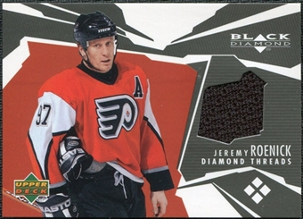 2003/04 Upper Deck Black Diamond Threads #DTJR Jeremy Roenick