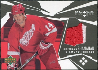 2003/04 Upper Deck Black Diamond Threads #DTBS Brendan Shanahan
