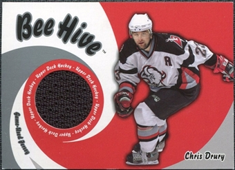 2003/04 Upper Deck Beehive Jerseys #JT30 Chris Drury