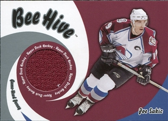 2003/04 Upper Deck Beehive Jerseys Joe Sakic #JT31