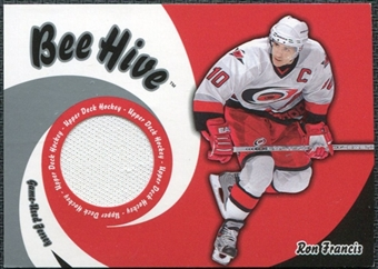 2003/04 Upper Deck Beehive Jerseys #JT40 Ron Francis