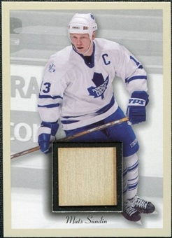 2003/04 Upper Deck Beehive Sticks Beige Border #BE9 Mats Sundin