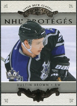 2003/04 Upper Deck Classic Portraits #171 Dustin Brown /1150