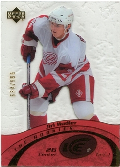 2003/04 Upper Deck Ice #98 Jiri Hudler /999 RC