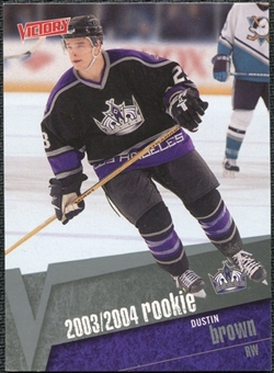 2003/04 Upper Deck Victory #205 Dustin Brown RC