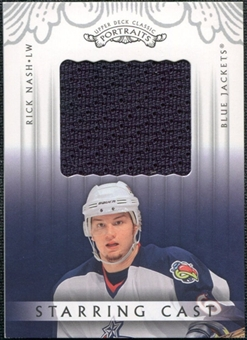 2003/04 Upper Deck Classic Portraits Starring Cast #SCRN Rick Nash