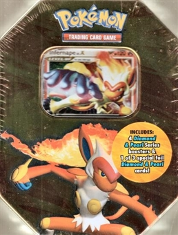 2007 Pokemon Fall Infernape Gift Tin