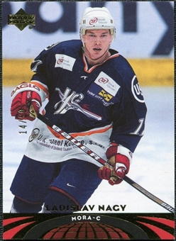 2004/05 Upper Deck UD All-World Gold #69 Ladislav Nagy /50