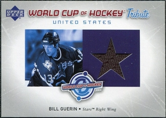 2004/05 Upper Deck World Cup Tribute #BG Bill Guerin