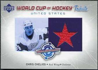 2004/05 Upper Deck World Cup Tribute #CC Chris Chelios