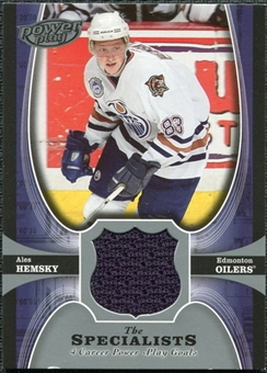 2005/06 Upper Deck UD Powerplay Specialists #TSAH Ales Hemsky