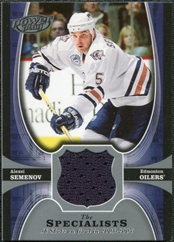 2005/06 Upper Deck UD Powerplay Specialists #TSAS Alexei Semenov