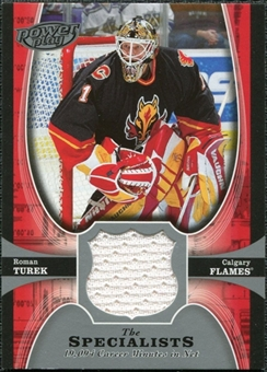 2005/06 Upper Deck UD Powerplay Specialists #TSRT Roman Turek