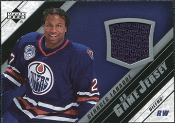 2005/06 Upper Deck Jerseys #JGUL Georges Laraque