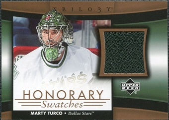 2005/06 Upper Deck Trilogy Honorary Swatches #HSMT Marty Turco