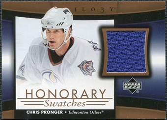 2005/06 Upper Deck Trilogy Honorary Swatches #HSCP Chris Pronger