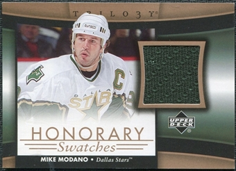 2005/06 Upper Deck Trilogy Honorary Swatches #HSMO Mike Modano