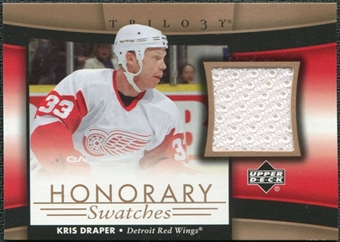 2005/06 Upper Deck Trilogy Honorary Swatches #HSKD Kris Draper