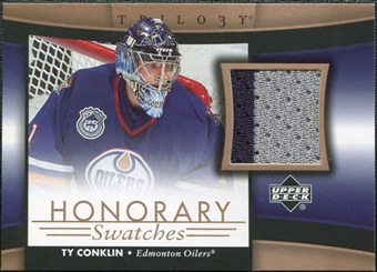 2005/06 Upper Deck Trilogy Honorary Swatches #HSTC Ty Conklin