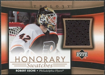 2005/06 Upper Deck Trilogy Honorary Swatches #HSRE Robert Esche