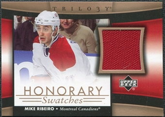 2005/06 Upper Deck Trilogy Honorary Swatches #HSRI Mike Ribeiro