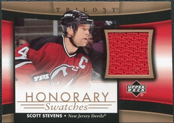 2005/06 Upper Deck Trilogy Honorary Swatches #HSSS Scott Stevens