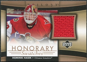 2005/06 Upper Deck Trilogy Honorary Swatches #HSHK Dominik Hasek