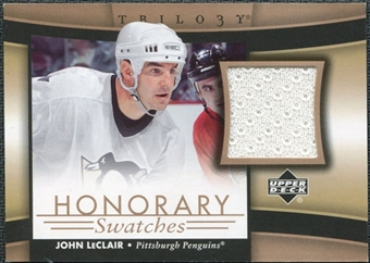 2005/06 Upper Deck Trilogy Honorary Swatches #HSJL John LeClair