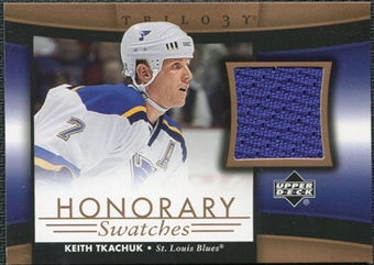2005/06 Upper Deck Trilogy Honorary Swatches #HSTK Keith Tkachuk