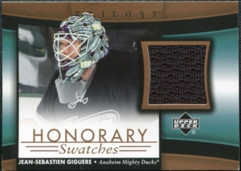 2005/06 Upper Deck Trilogy Honorary Swatches #HSJG Jean-Sebastien Giguere