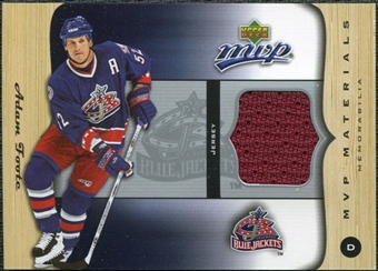2005/06 Upper Deck MVP Materials #MAF Adam Foote