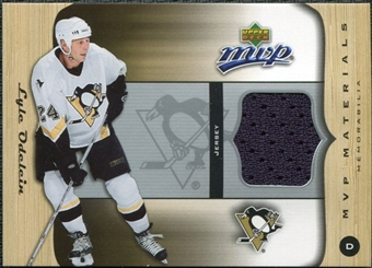 2005/06 Upper Deck MVP Materials #MLO Lyle Odelein