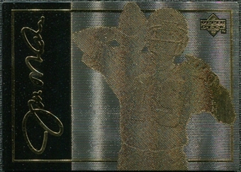 1993 Upper Deck 24K Gold #1 Joe Montana