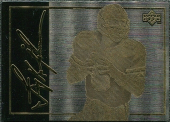 1993 Upper Deck 24K Gold #3 Troy Aikman