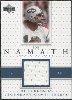 2000 Upper Deck Legends Legendary Jerseys Joe Namath #LJJN