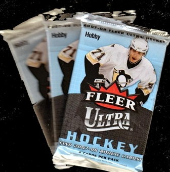 2007/08 Fleer Ultra Hockey Hobby Pack