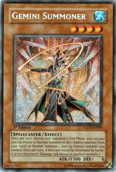 Yu-Gi-Oh Tactical Evolution Single Gemini Summoner Secret Rare