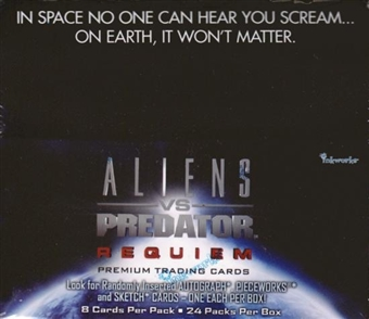 Alien VS Predator Requiem Hobby Box (2007 InkWorks)