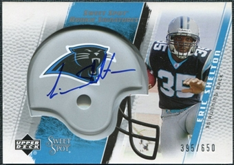 2005 Upper Deck Sweet Spot #247 Eric Shelton /650 RC Autograph